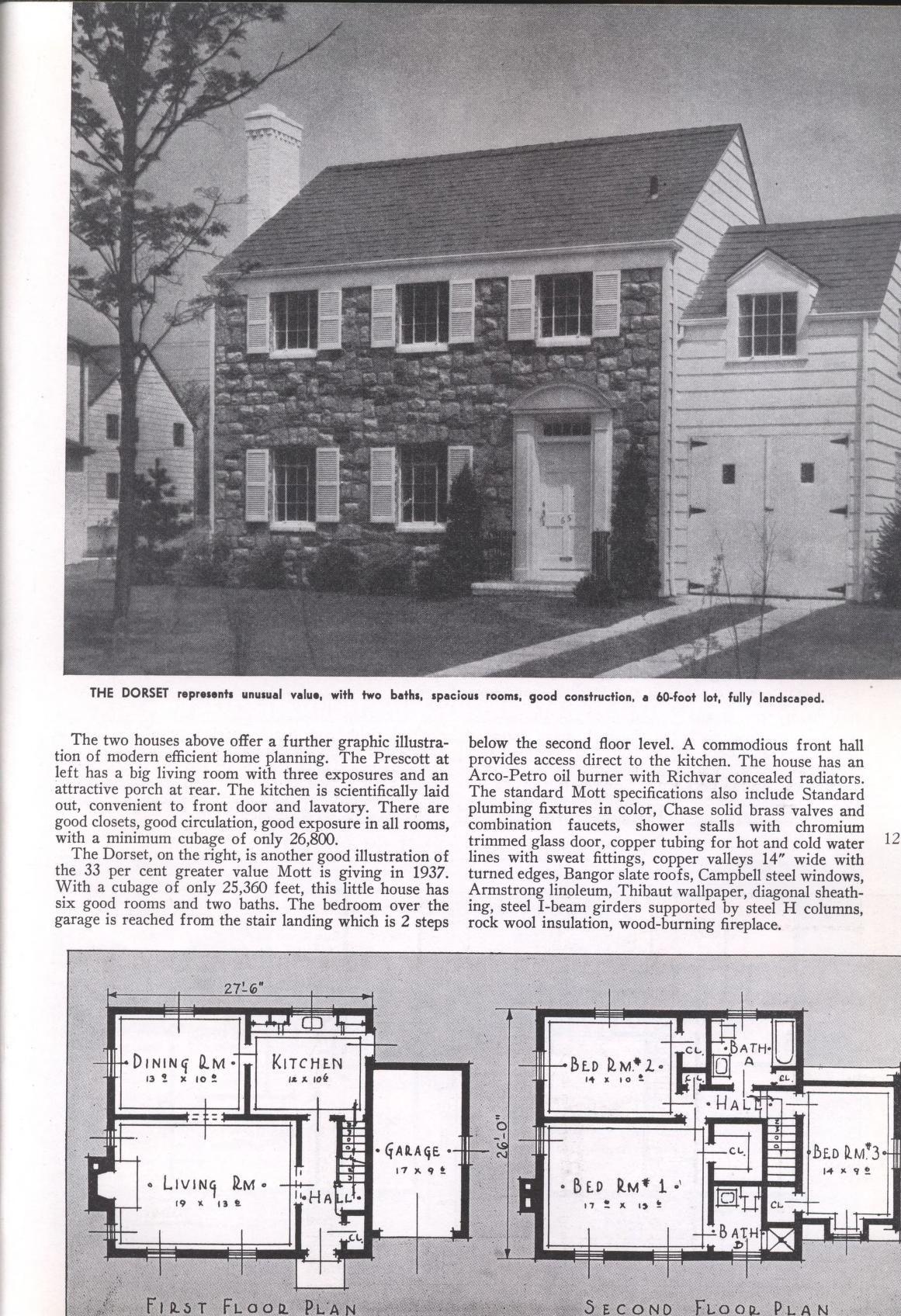 Big Value Homes Architectural Floor Plans Vintage House Plans