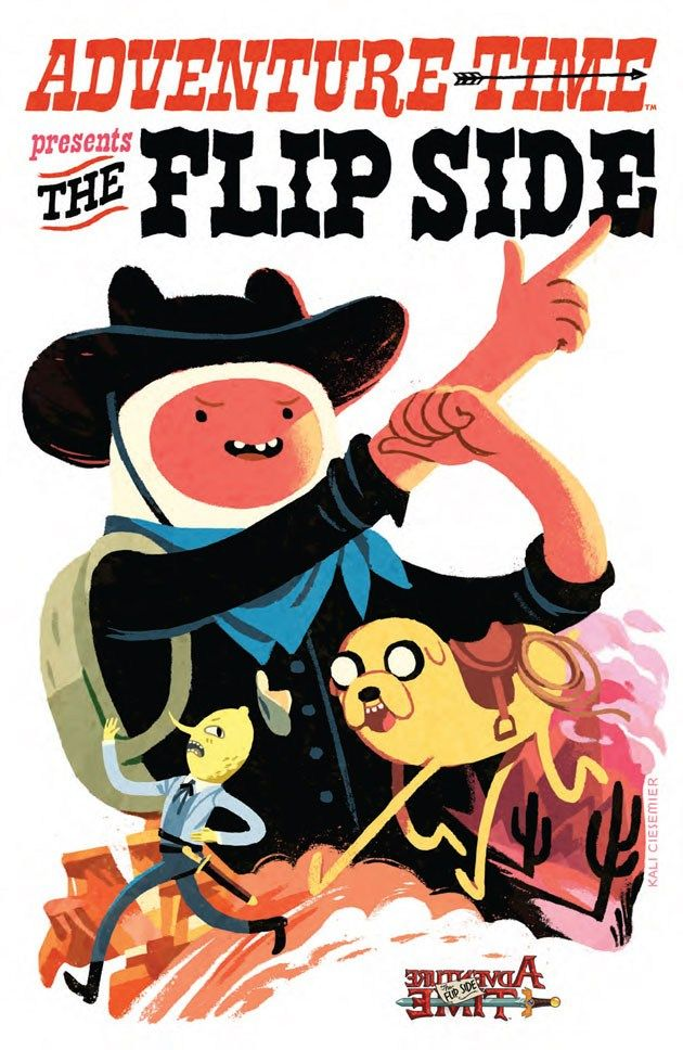 'Adventure Time The Flip Side' 5 Comic Book Preview (มี