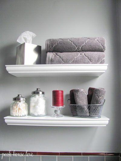 bathroom floating shelves home pinterest shelving bath and house rh pinterest co uk