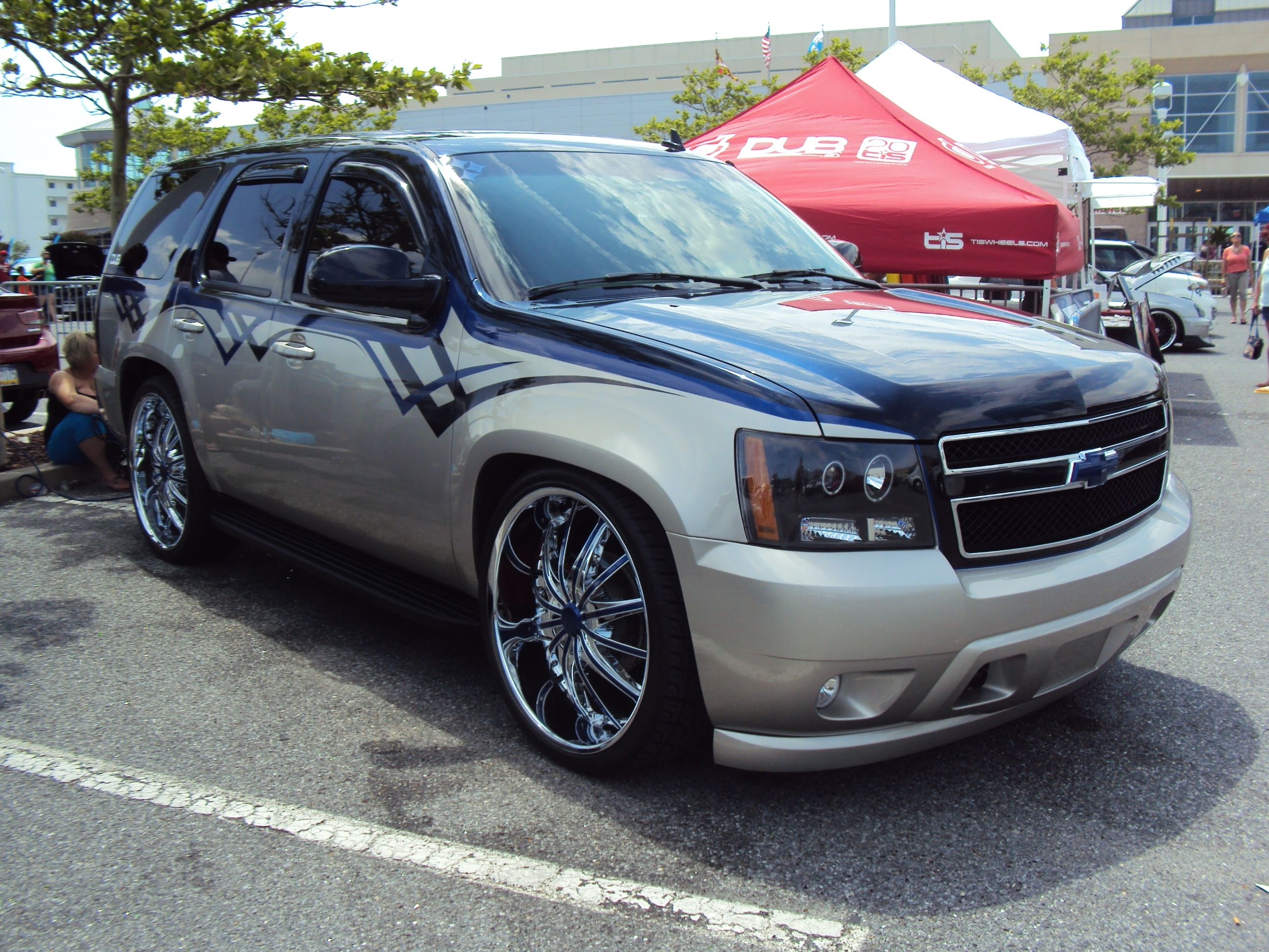 Sulli3 s 2007 chevrolet tahoe in that place