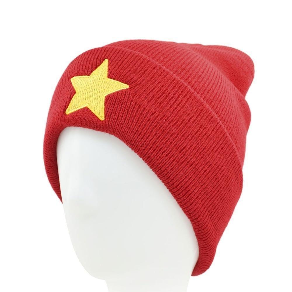 6db4ade493c CLIMATE Men Women Winter Warm Beanie Hat Pentastar Star Steven Universe Red  HipHop Warm Knitted Caps Hat For Men Women Teenager