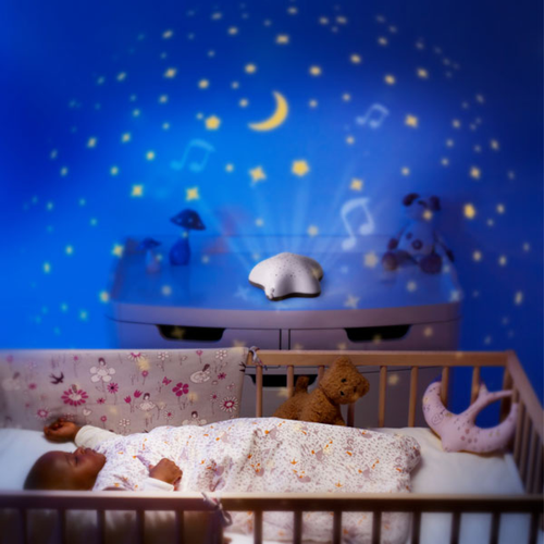 Baby Night Light Projector Pabobo Musical Star Projector Baby