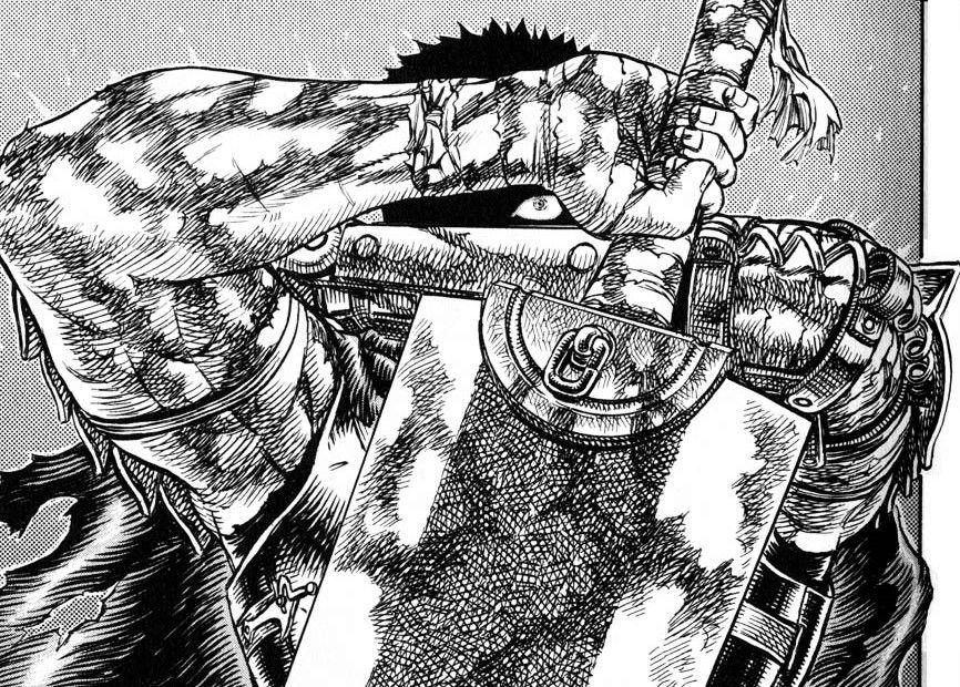 guts manga berserk ����� by kentaro miura berserk