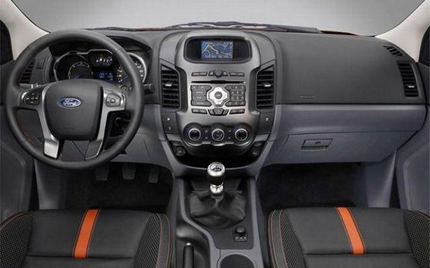 2016 Ford Ranger Dashboard