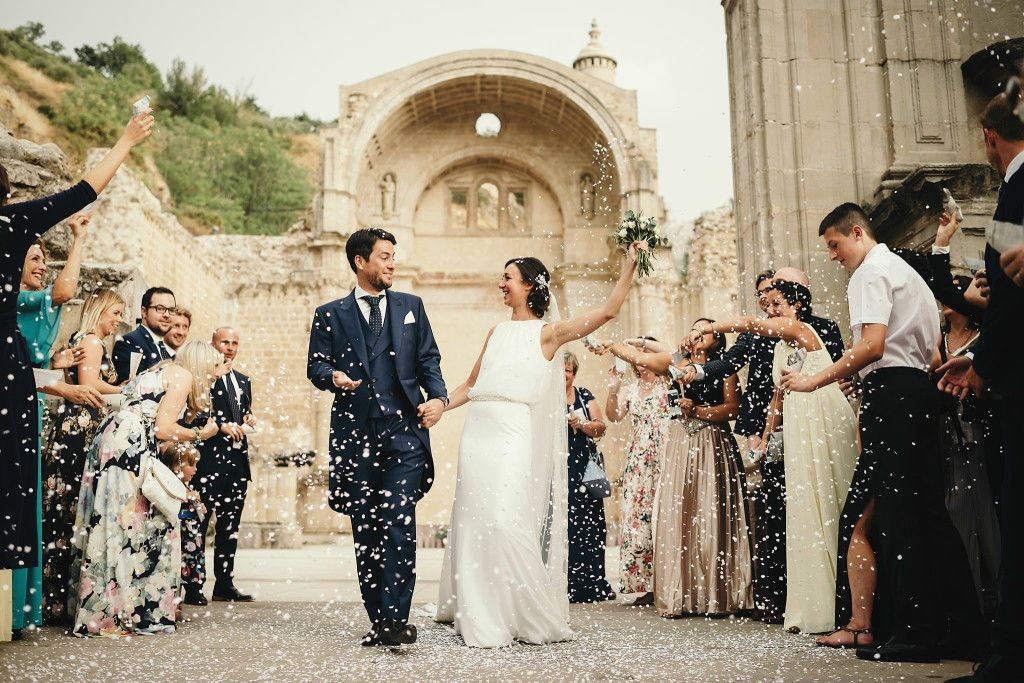 Without A Doubt That Was The Happiest Day Of Our Lives Says Maria Emotionally Pronoviasrealbride Real Brides Wedding Dresses Wedding