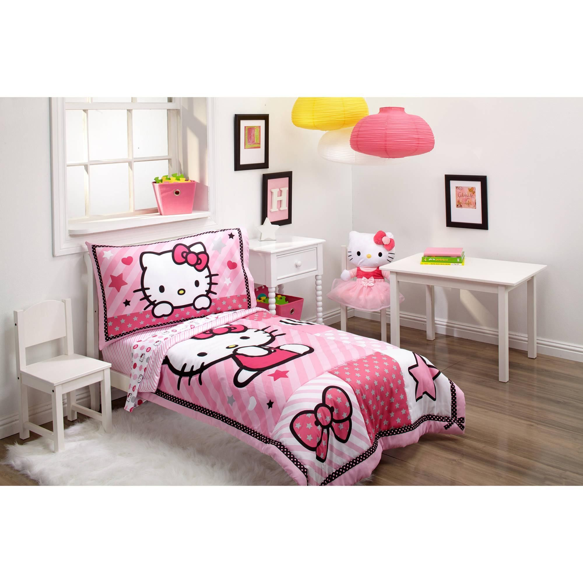 Toddler Character Bed Toddler Mattress And Complete Bedding Set