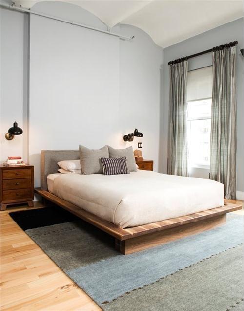Retro Bedroom Design Endearing Contemporary Modern Retro Bedroomamanda Moore  Wood Decorating Inspiration