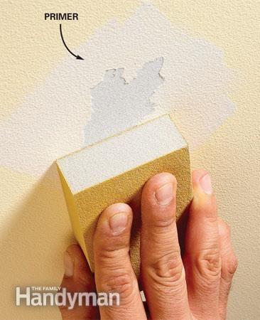 Preparing Walls For Painting Problem Walls Preparing Walls For Painting Diy Home Repair Diy Home Improvement