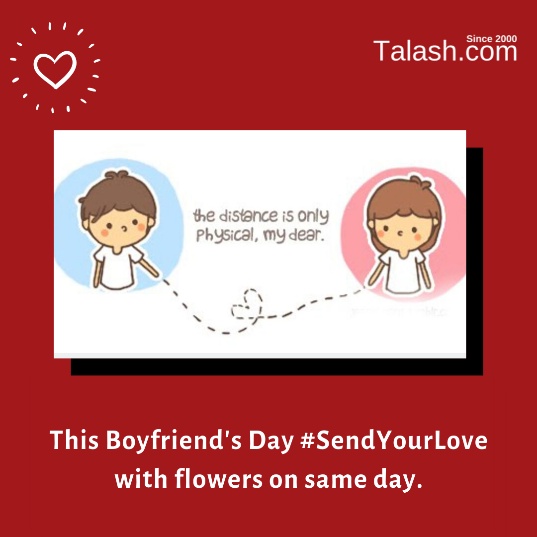This BoyfriendsDay Let's bring long distance relationship