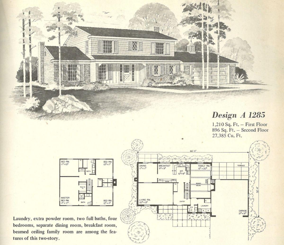 vintage house plans farmhouses - Vintage Farmhouse Plans
