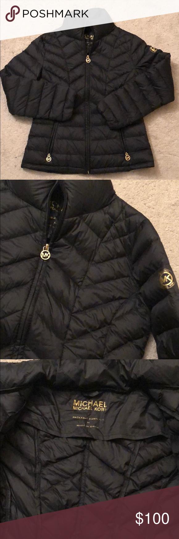 New Black Michael Kors Jacket Michael Kors Jackets New Black Clothes Design [ 1740 x 580 Pixel ]