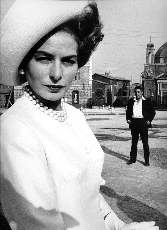 Ingrid Bergman & Anthony Quinn The Visit 1964 | Ingrid