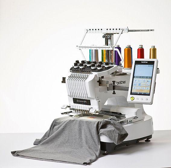 Brother Pr1000e 10 Needle Embroidery Machine Commercial Embroidery Machine Sewing Machine Embroidery Machine Embroidery