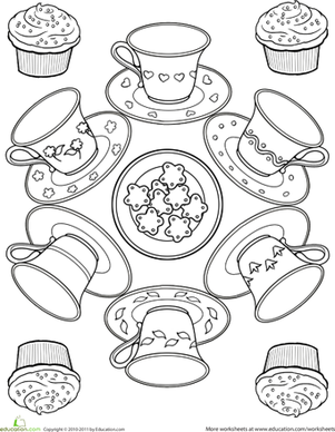 tea cup coloring pages Teacup Coloring Page | Crayons not included | Coloring pages, Tea  tea cup coloring pages