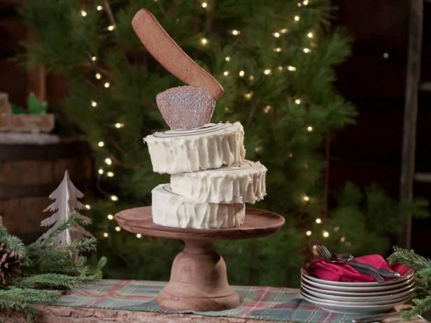 Holiday Yule Log With Ax Topper Recipe Baked In Vermont Yule