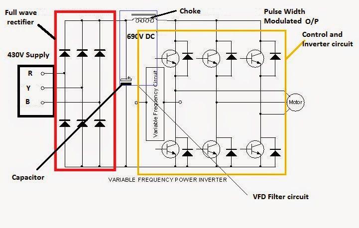 Variable Frequency Drive Circuit Diagram Circuit Diagram Knowledge Circuit