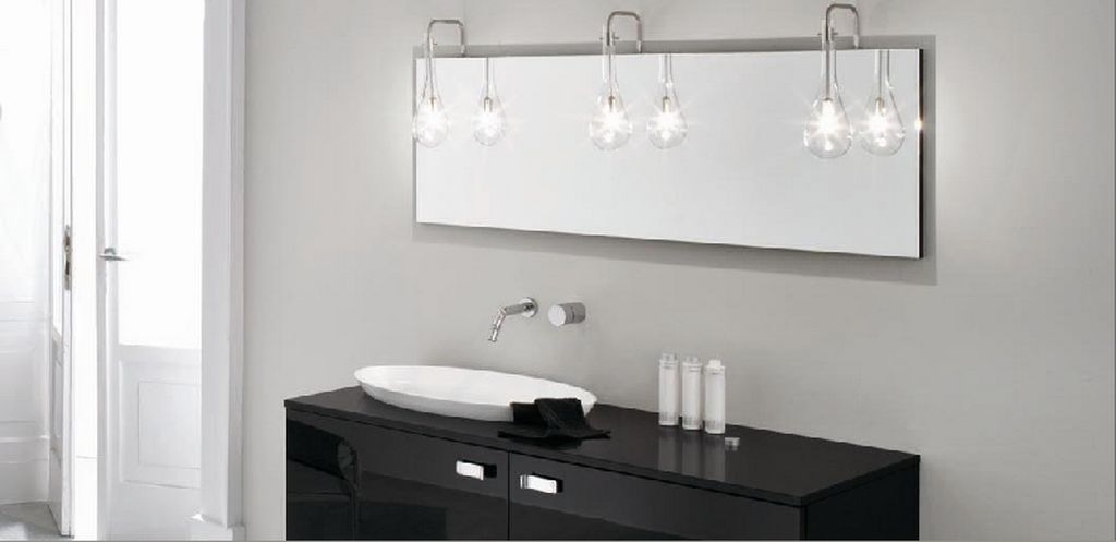 Bathroom Mirrors With Embedded Led Lights Bathroom Pictures Bathroom Mirror Lights Mirror