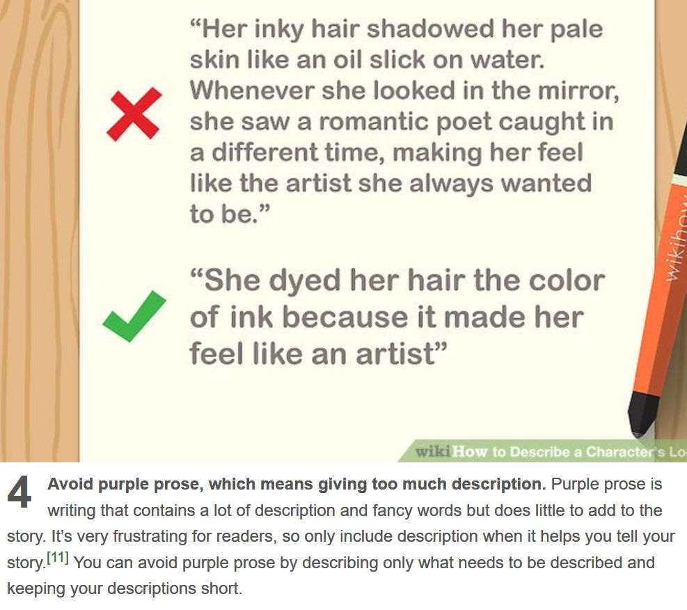 How to Describe a Character's Looks Well   Writing characters, Prose,  Romantic poets