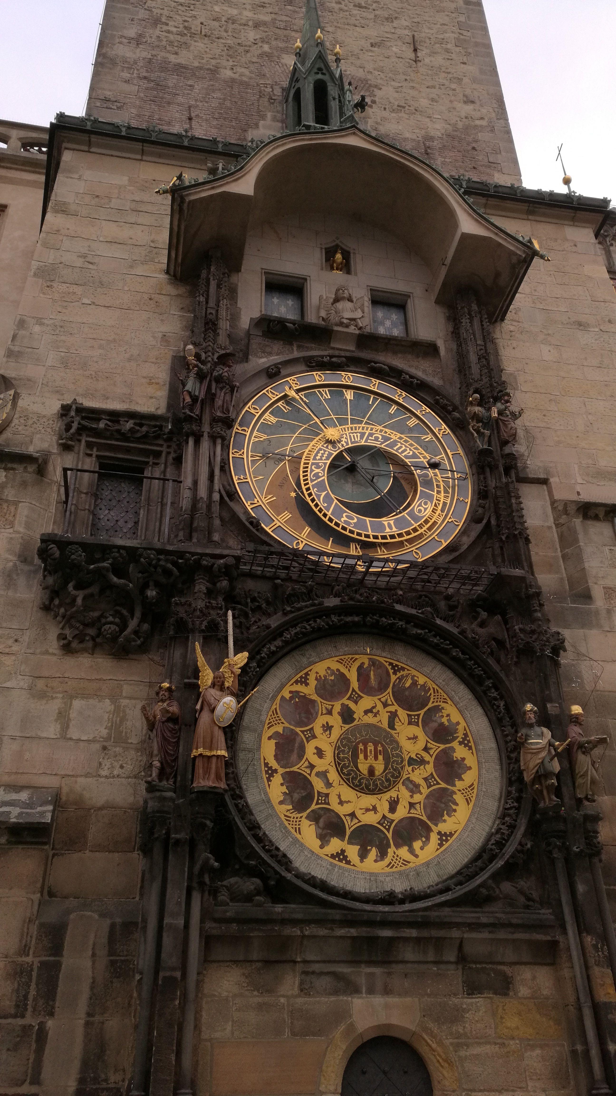 El famoso reloj astrónomico