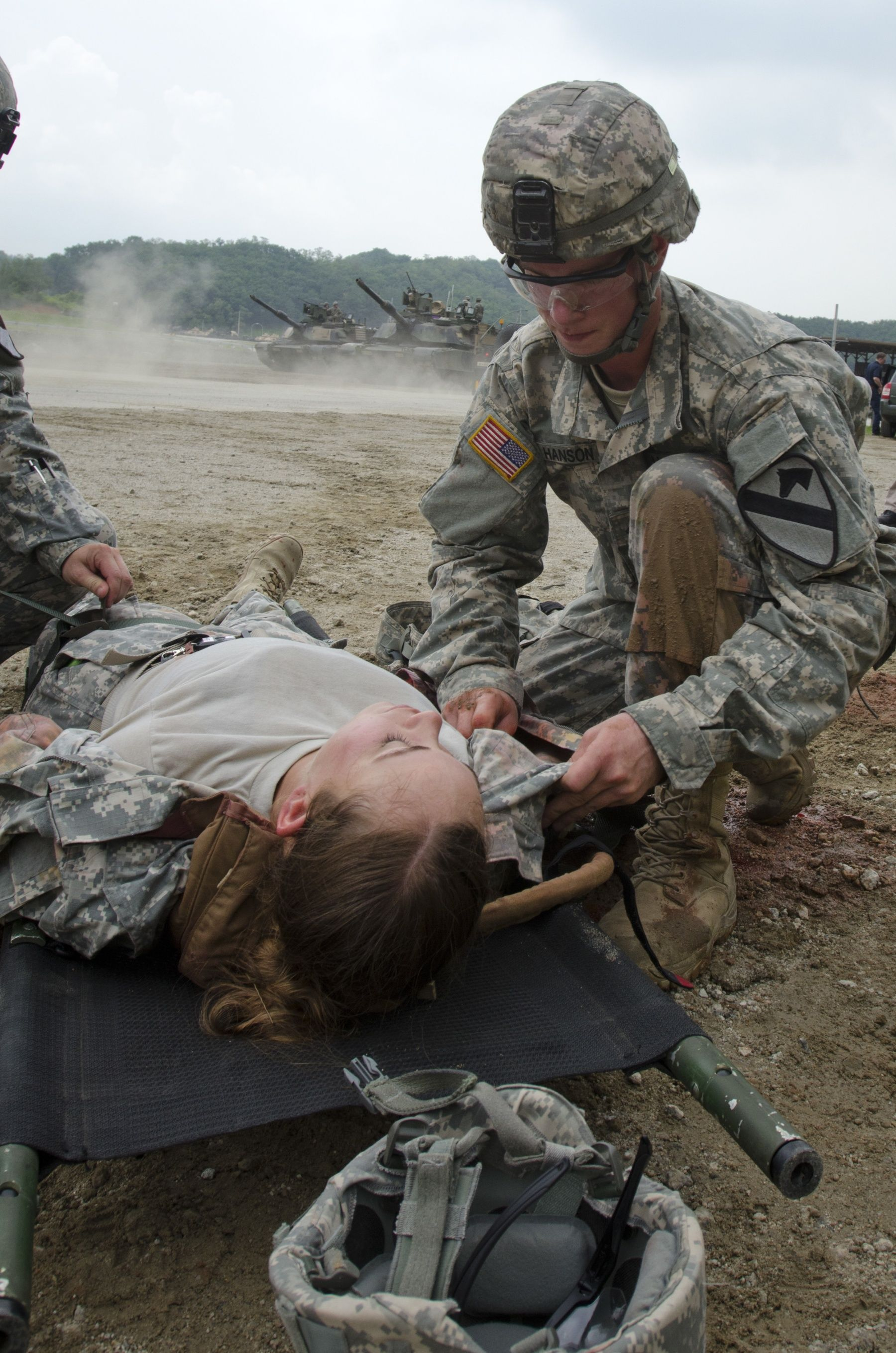Combat medics train as they fight | Article | The United States ...