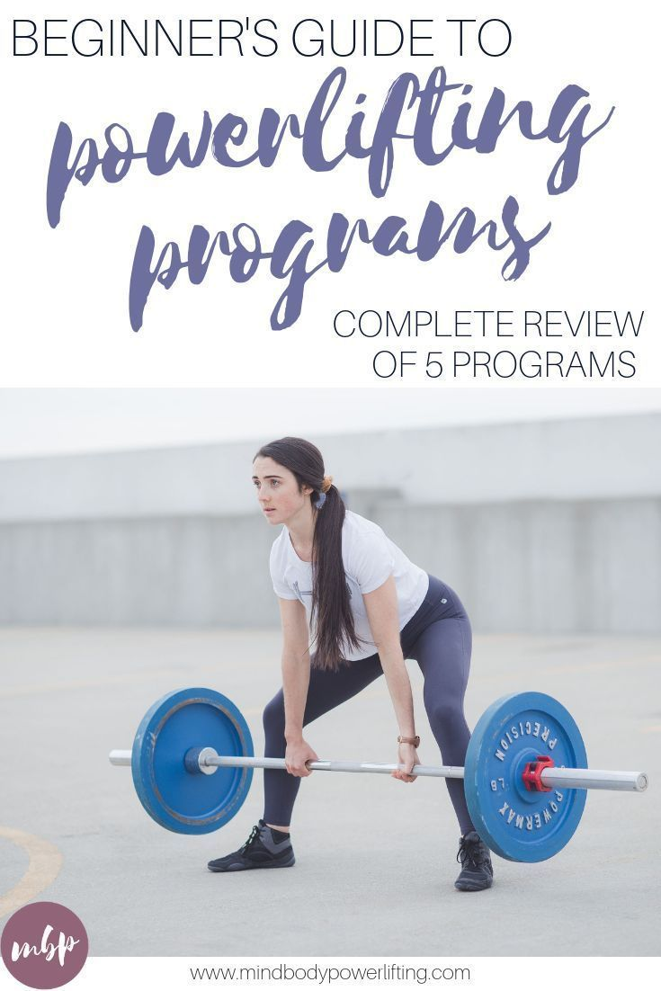 Powerlifting Programs for Beginners + Tips to Pick the Best For You #Armstrong #Beginners #Fitness T...