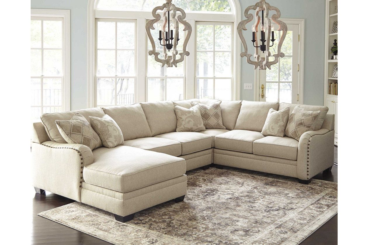 Luxora 4-Piece Sectional | Ashley Furniture HomeStore | Sectionals ...