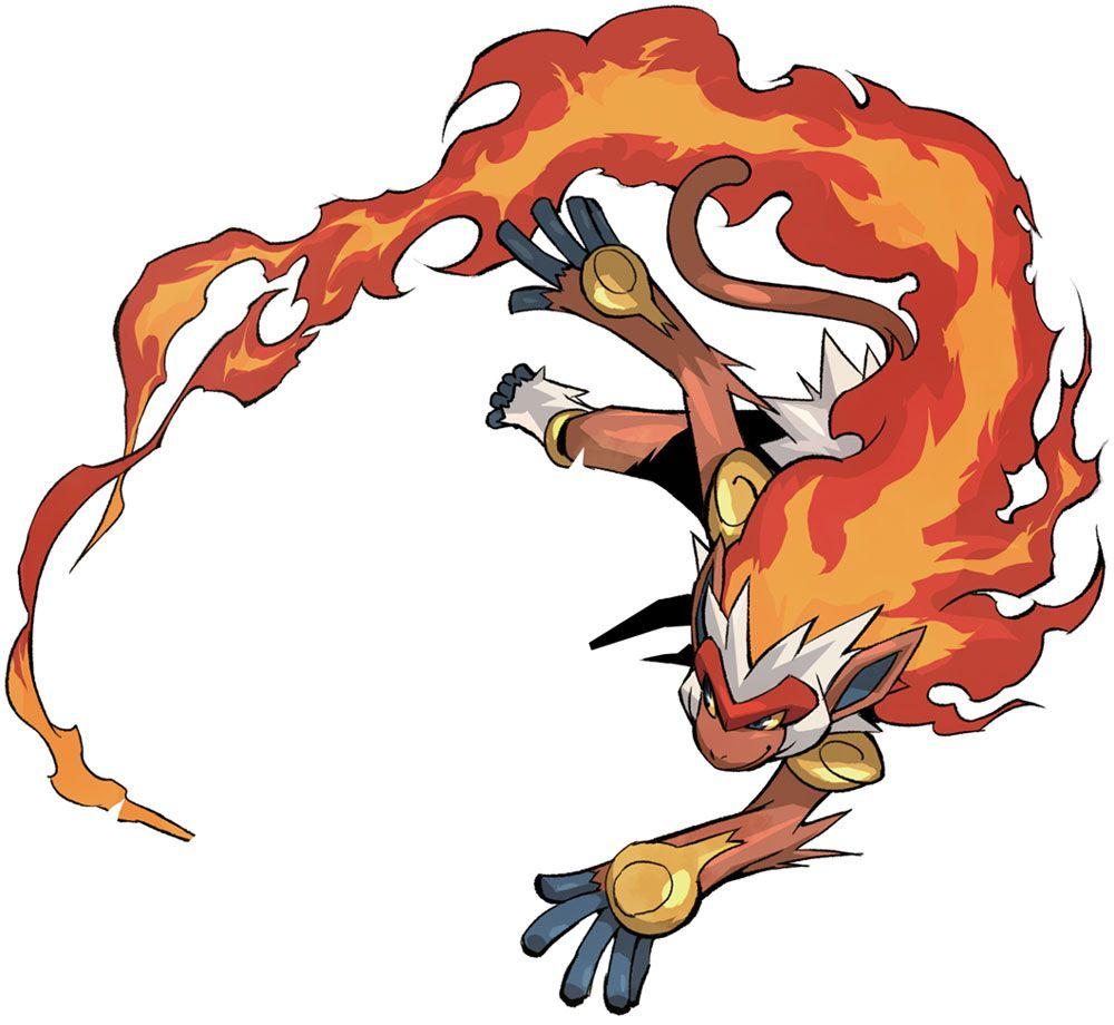 Infernape Characters Art Pokemon Conquest Pokemon Pokemon Art Infernape Pokemon