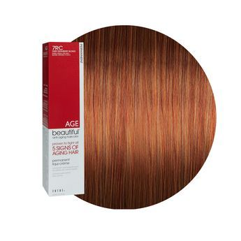 7rc Dark Strawberry Blonde Permanent Liqui Creme Hair Color Dark