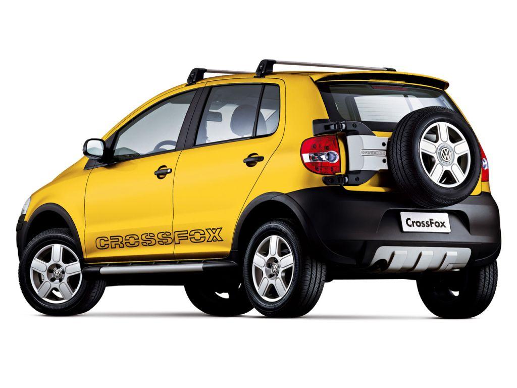 Volkswagen Crossfox 2005 07 Volkswagen Motos Autos