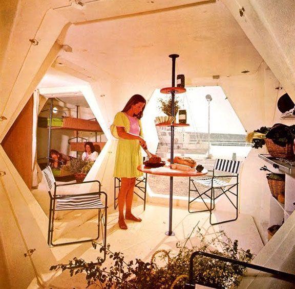 Dome House Futuristic: Georges Candilis à Design Miami