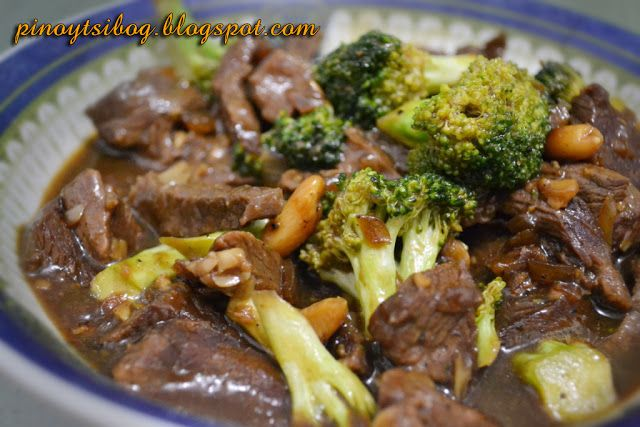 Pinoy Tsibog: Beef with Broccoli   Broccoli beef, Broccoli ...