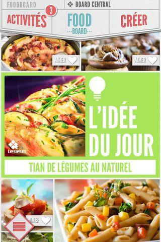 Foodboard iphone App