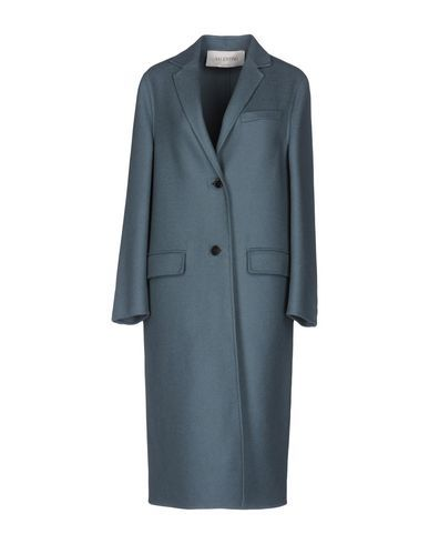 VALENTINO Women's Overcoat Pastel blue 4 US