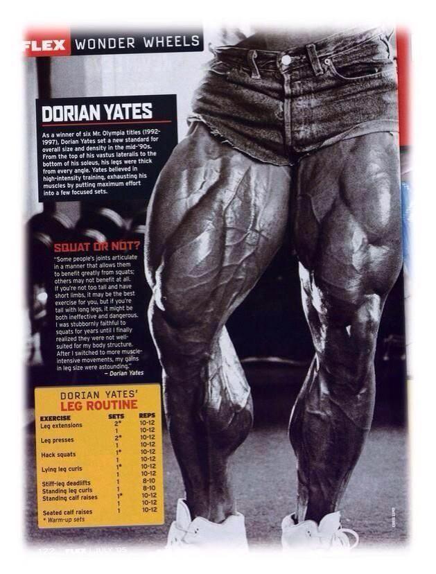 Pin On Dorian Yates