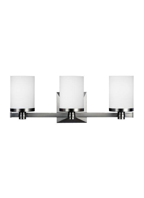 Feiss vs22903 randolf 3 light reversible bathroom vanity light satin nickel indoor lighting bathroom fixtures vanity