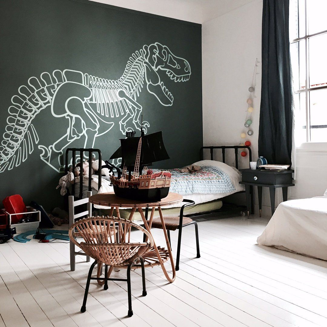 Wall Stickers for Kids Room - T-Rex Dinosaur - Large Wall Decals
