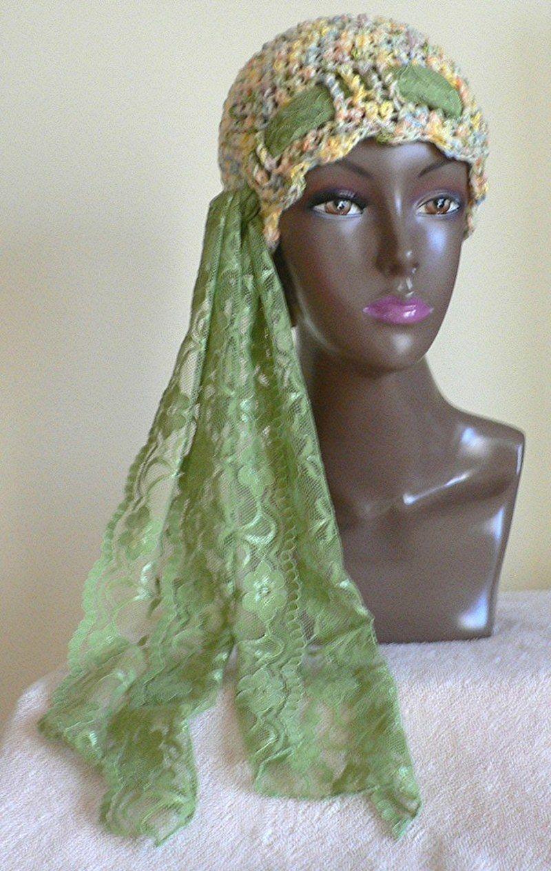 gorro con pañuelo | tejidos a crochet | Pinterest | Gorros, Seda y ...