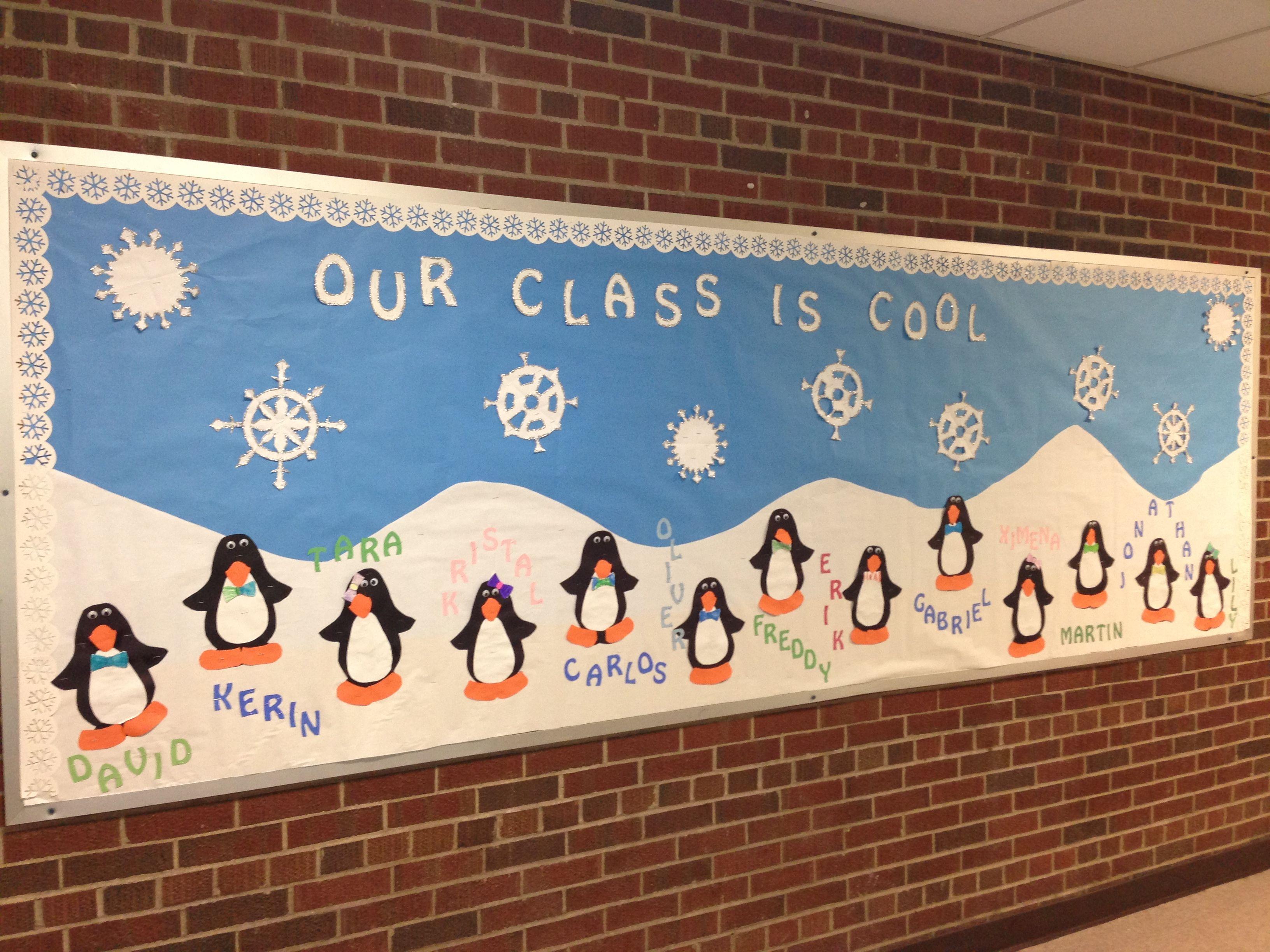 Classroom Bulletin Board Ideas For January : January bulletin board our class is cool i found this