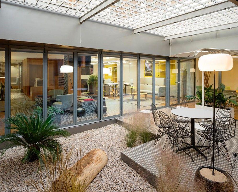 Salas De Reuniones En Jardines Interiores Ideascoworking Deco  # Salon El Jardin De Diez Irapuato