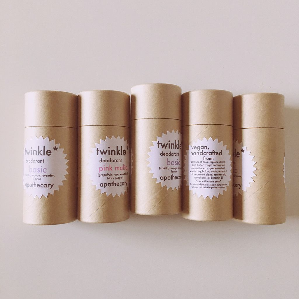 Why We Switched From Plastic To Paper Deodorant Tubes