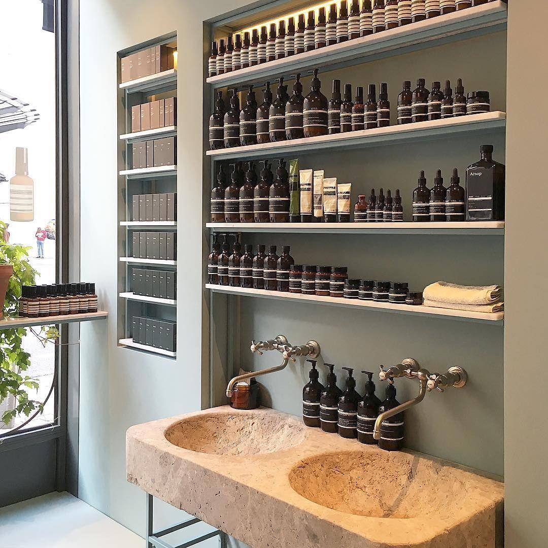 #bathroom #aesop #aesopskincare #paris #morninglight #beauty #morningrituals #simple #decoration #lovelyplace #aesopparis #skincare by _le_detail_