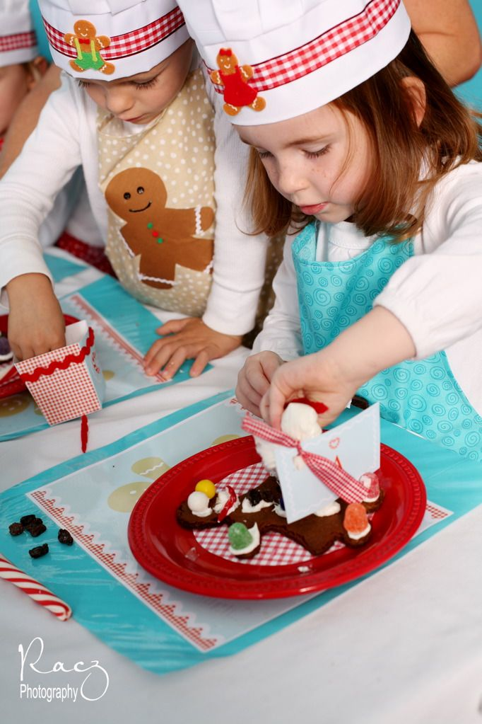 {Real Party} A Savvy Gingerbread Playdate Gingerbread