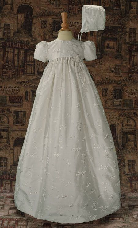 12 Mo Silk Christening Baptism Gown CLEARANCE CLOSEOUT #LTMAL #Gown ...