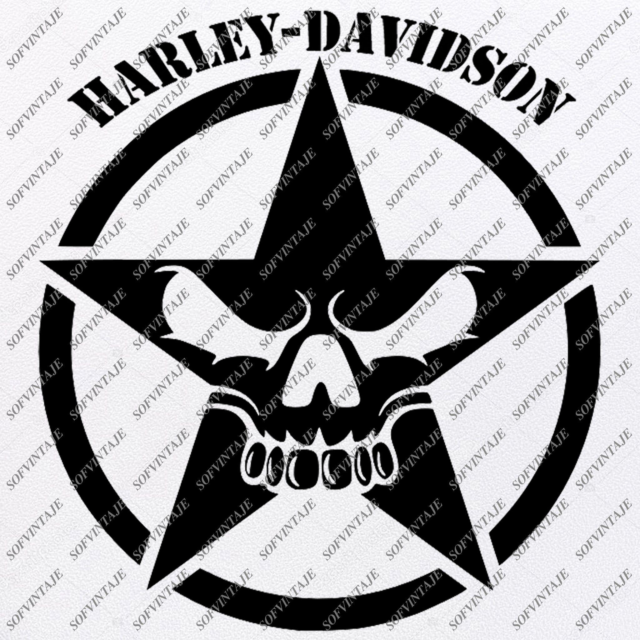 Harley Davidson Svg File Skull Harley Davidson Svg Design Clipart Tattoo For Motorcycle Harley Davitson Png Vector Graphics Svg For Cricut For Silhouette Svg Silhouette Svg Harley Davidson Svg Design