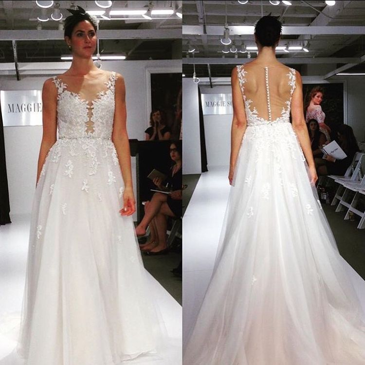 A few highlights of the gorgeous wedding gowns we saw while at the ...