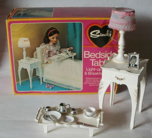 Original Vintage 1970s Pedigree SINDY Doll Bedside Table And Tray Boxed |  EBay