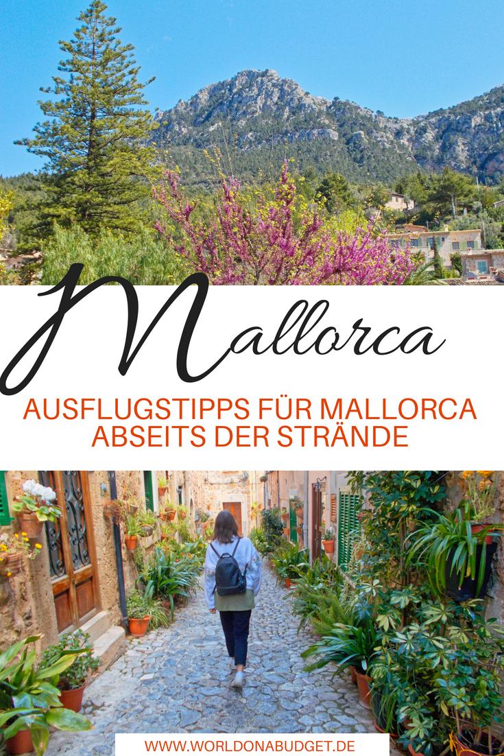 #Ausflüge und #Tagestrips auf #Mallorca abseits der Strände. Die Insel in #Spanien hat nämlich so viel mehr zu bieten und ist auch im #Frühling oder #Herbst ein Highlight. Entdecke jetzt tolle Wanderungen, Aussichtspunkte, Bergdörfer und Felsbögen in unserem #Reisebericht. Und verbringe einen abwechslungsreichen #Urlaub auf der Insel!
