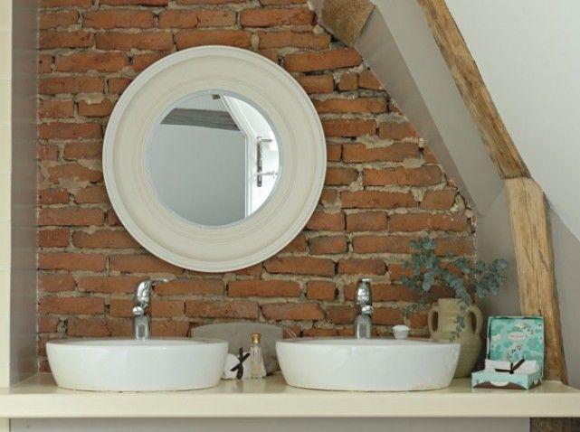 Quelques Rangées De Briques Et Tout De Suite Lespace Sort De L - Briquette salle de bain