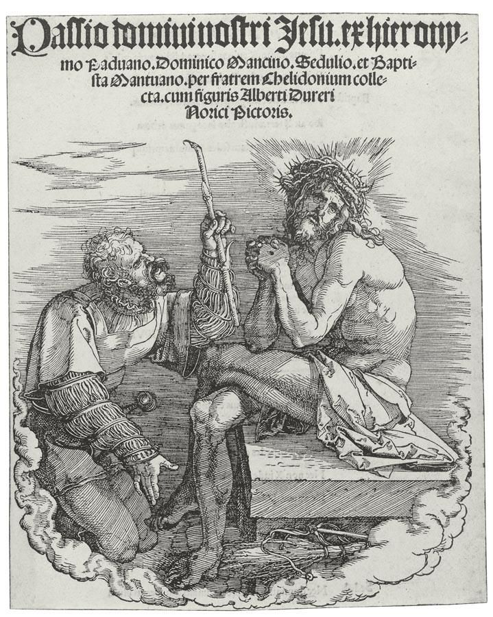 Durer-Man of Sorrows Mocked by a Soldier