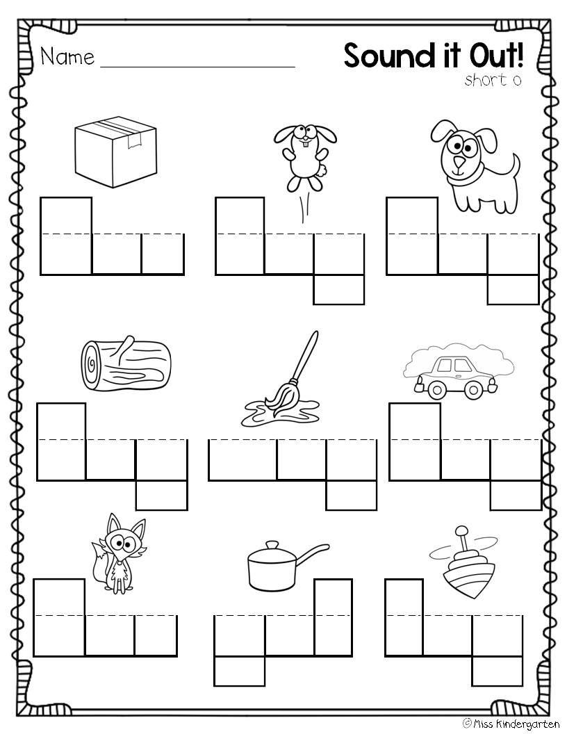 Miss Kindergarten Super Cvc Practice Learning Phonics Miss Kindergarten Kindergarten Language Arts [ 1056 x 816 Pixel ]
